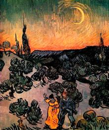 Promenade du Soir (Moonlit Landscape)