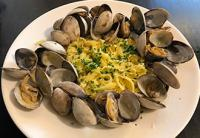 Luciana Mosconi Tagliatelle with Clams